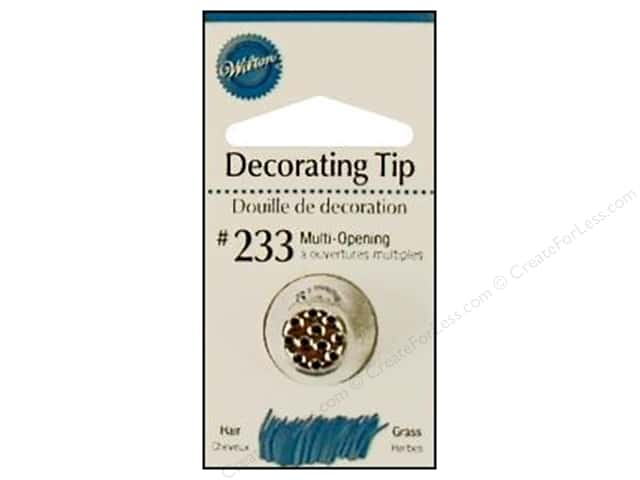 Wilton Tools Cake Decorating Tip Multi Opening #233