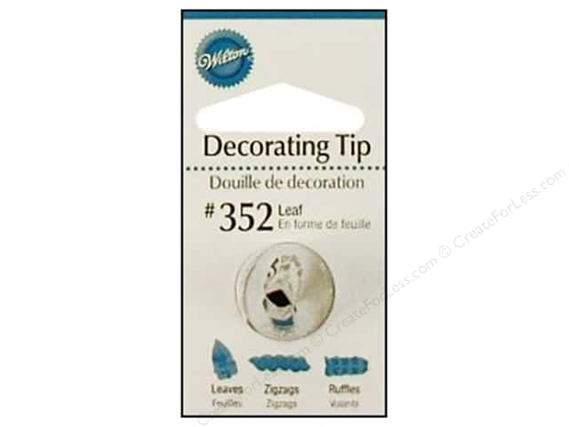 Wilton Tools Decorating Tip Leaf #352