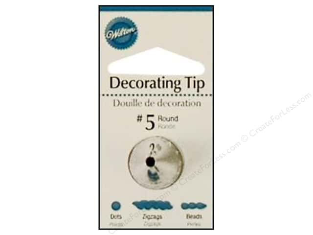 Wilton Tools Cake Decorating Tip Round #5