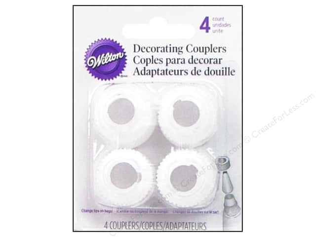 Wilton Tools Coupler Ring Set 4pc