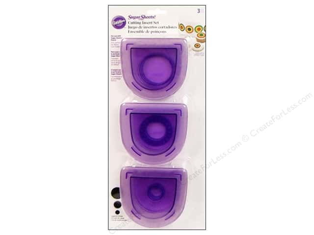 Wilton Tools Cutting Insert Set Layered Circles 3pc