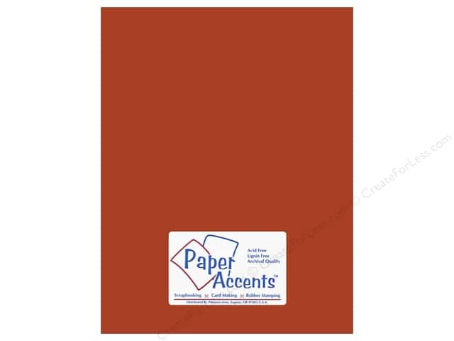 Cardstock 8 1/2 x 11 in. #10139 Stash Builder Yam by Paper Accents (25 sheets)