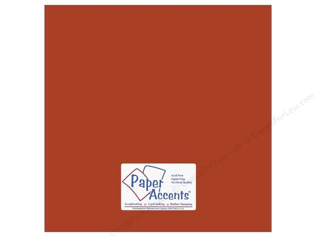 Cardstock 12 x 12 in. #10139 Stash Builder Yam by Paper Accents (25 sheets)