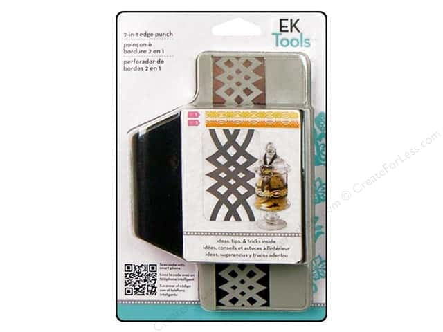 EK Paper Shapers Edger Punch 2 In 1 Calligraphic Scroll