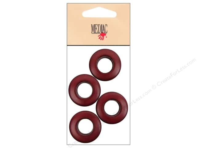 Mediac Grommet 14mm Matte Wine 4pc