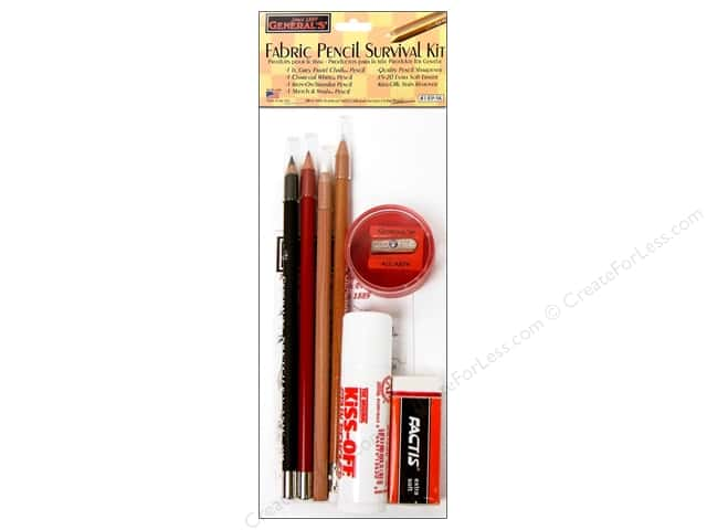 General's Fabric Pencil Set Survival Kit