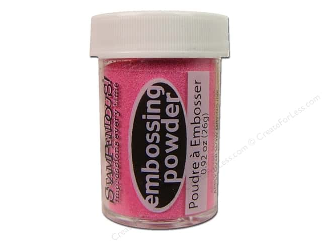 Stampendous Embossing Powder 0.92oz Bright Pink