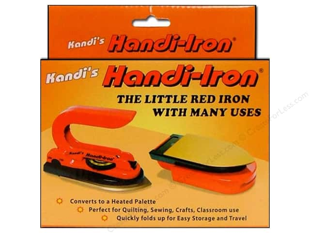 Kandi Handi Iron Folding Travel Iron