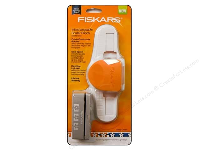 Fiskars Interchangeable Border Punch Starter Set