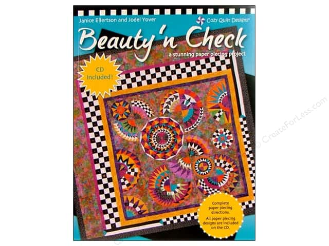 Cozy Quilt Designs Beauty N Check Book