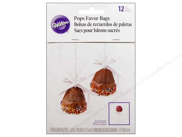 Wilton Cake Pops Favor Bags 12 pc.