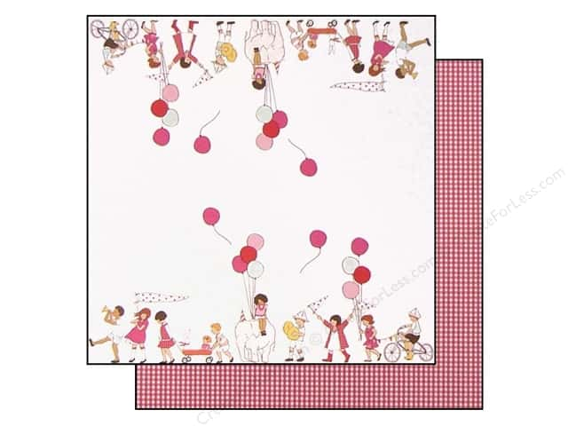 "Making Memories Paper 12""x 12"" Sarah Jane On Parade (25 pieces)"