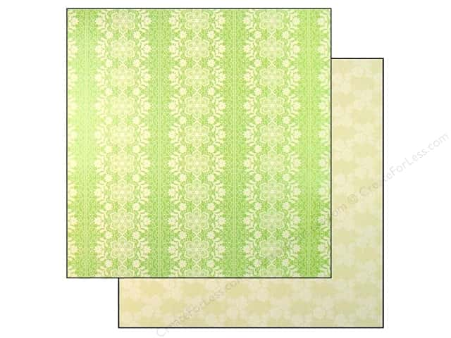 "Making Memories Paper 12""x 12"" Millinery Big Lace (25 pieces)"
