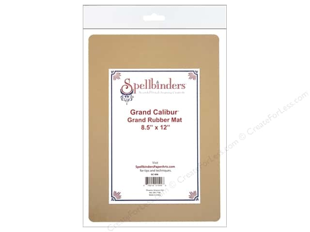 "Spellbinders Mats Grand Calibur Rubber 8.5""x 12"""