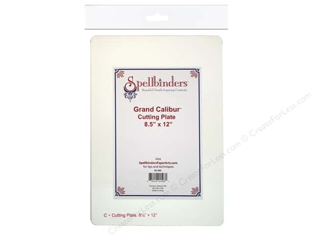 "Spellbinders Mats Grand Calibur Cutting Plate 8.5""x 12"""