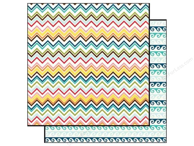 Echo Park Paper 12x12 Sunshine Zig Zag (15 pieces)