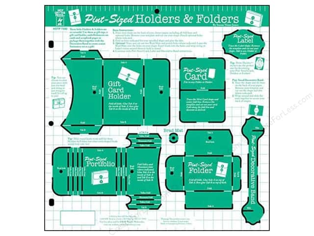 Hot Off The Press Templates Pint Sized Holders & Folders