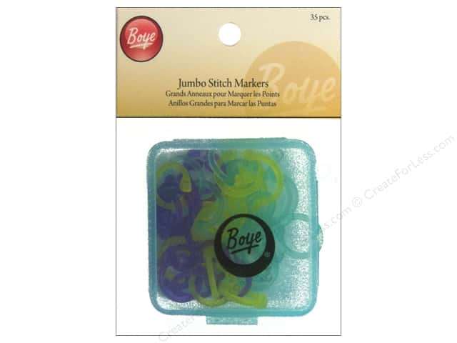 Boye Stitch Markers Jumbo 35 pc.