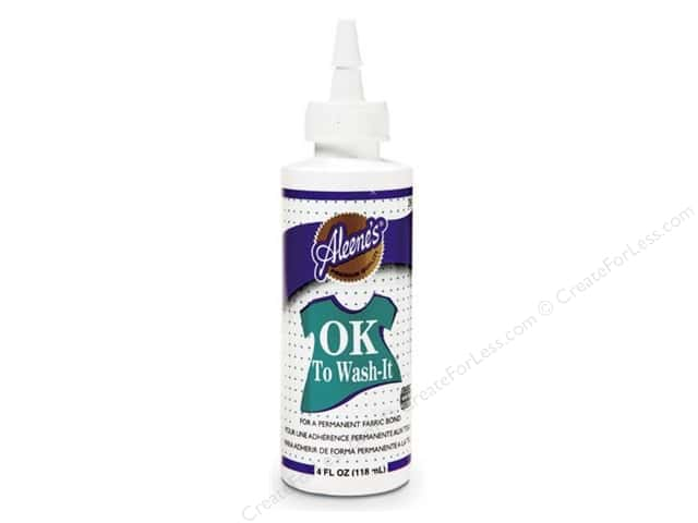 "Aleene's Fabric ""Ok to Wash It""Glue 4oz"