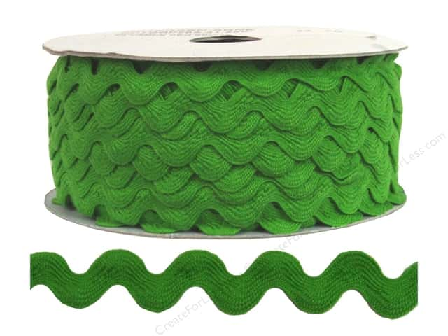 Ric Rac by Cheep Trims  1/2 in. Lime (24 yards)