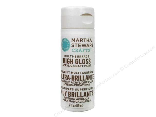 Martha Stewart Craft Paint by Plaid Gloss Wedding Cake 2 oz.