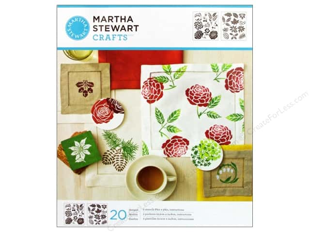 Martha Stewart Stencils by Plaid Four Seasons Medium