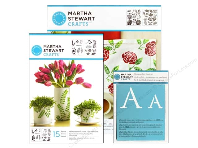 Martha Stewart Stencils by Plaid