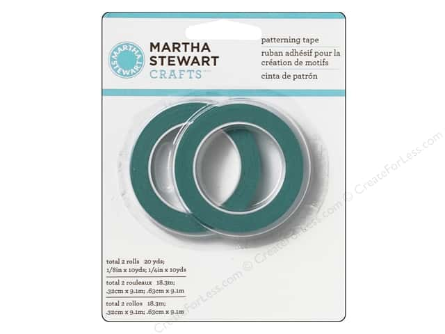 Martha Stewart Patterning Tape by Plaid 2 pc.