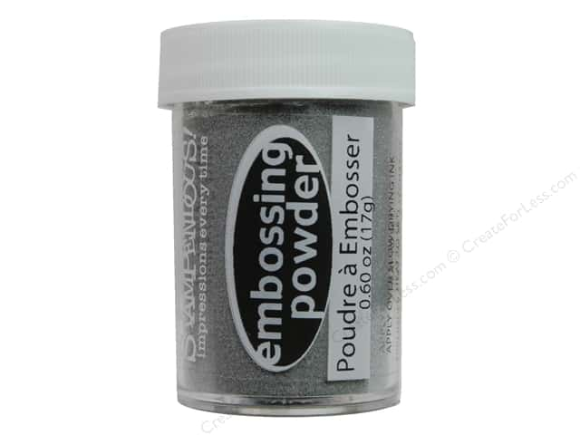 Stampendous Embossing Powder 0.60oz Detail Silver
