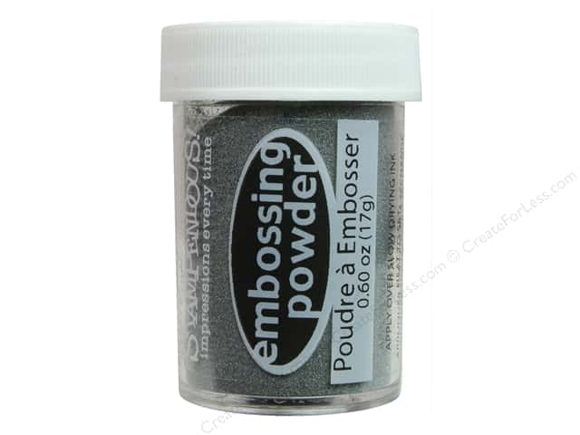 Stampendous Embossing Powder 0.60oz Sterling Silver