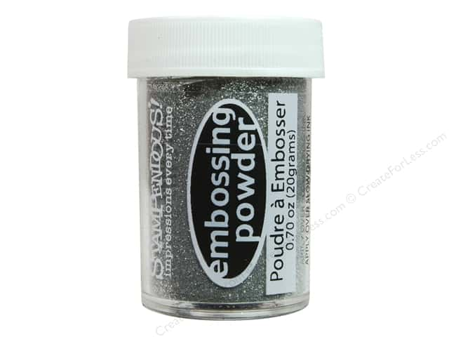 Stampendous Embossing Powder 0.70oz Silver Tinsel