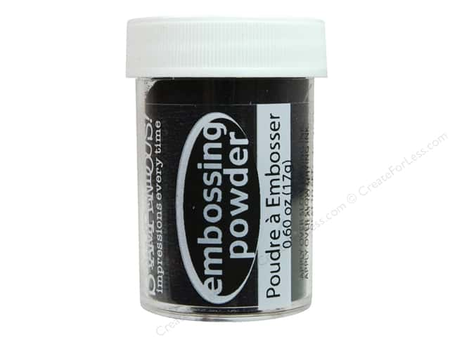 Stampendous Embossing Powder 0.60oz Midnight Black