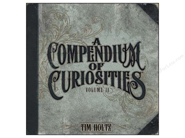 Tim Holtz A Compendium of Curiosities Book 2