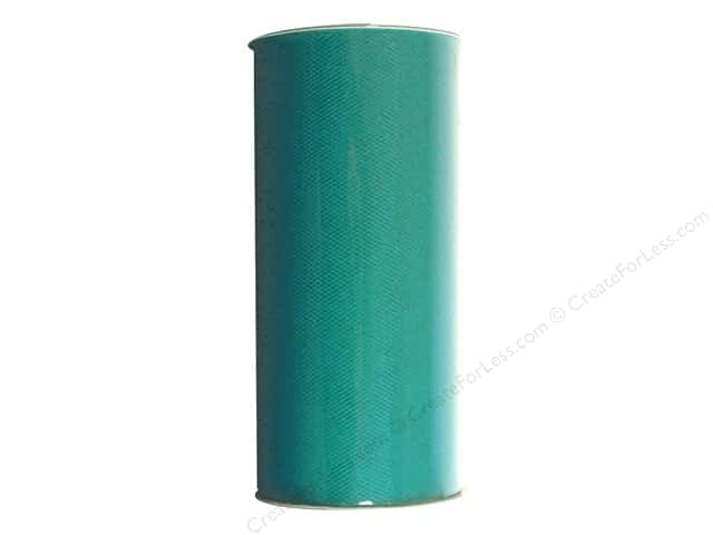 "Darice Tulle 6"" Victoria Lynn Turquoise 25yd (25 yards)"