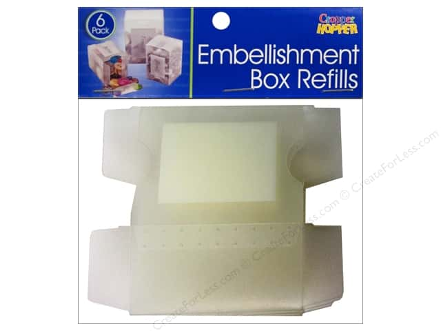 Cropper Hopper Supply Storage Embellishment Box Refills
