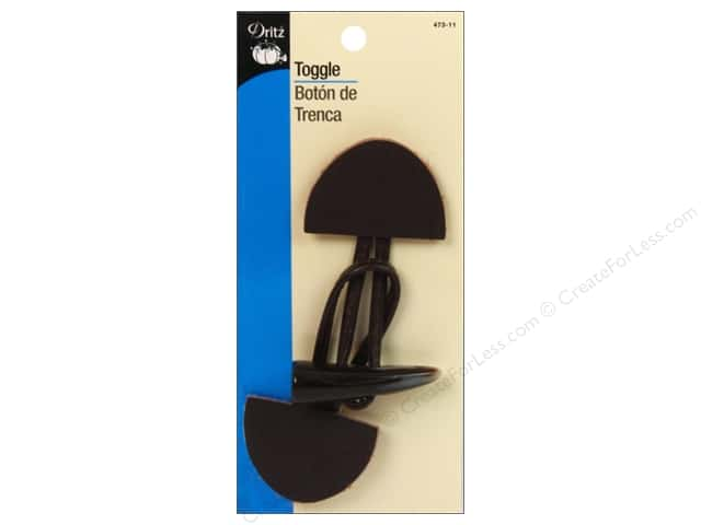 Toggle Closure by Dritz Large Brown