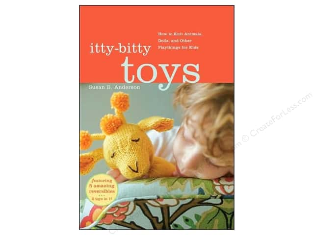 Workman Books Itty Bitty Toys Book