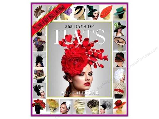 Workman Publishing 365 Days Of Hats Calendar 2013