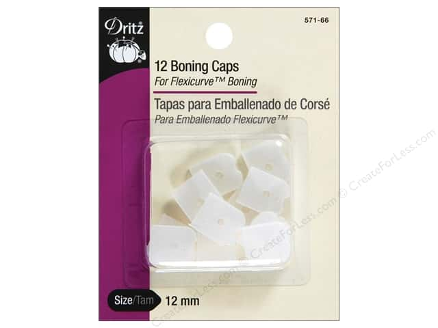 Boning Caps by Dritz White 12pc