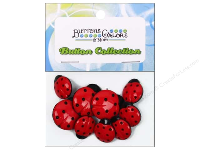 Buttons Galore Theme Buttons Ladybugs