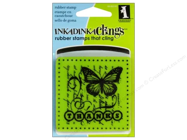 Inkadinkado Inkadinkaclings Stamp Mini Thanks