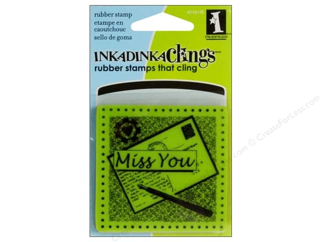 Inkadinkado Stamp Inkadinkaclings Mini Miss You