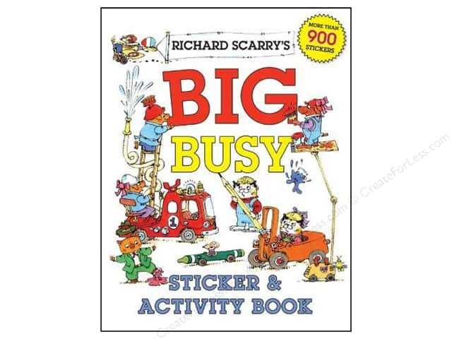 Sterling Richard Scarry's Big Busy Sticker & Activity Book