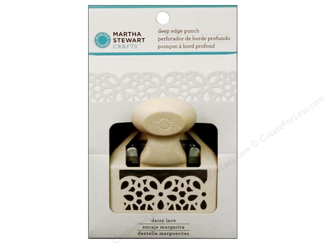 Martha Stewart Deep Edger Punch Daisy Lace