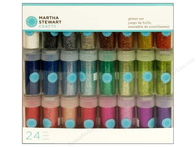 Martha Stewart Glitter Set Rich Essentials