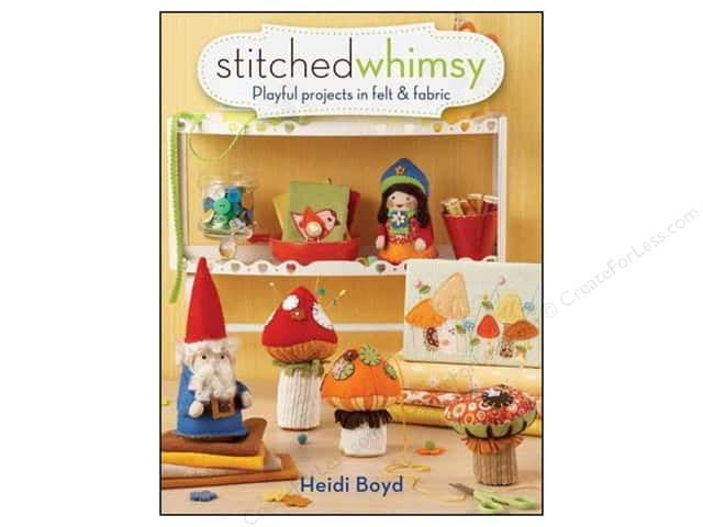 North Light Stitched Whimsy Book