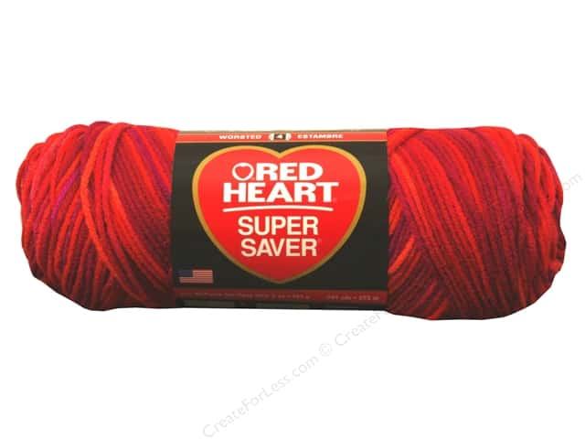 Red Heart Super Saver Yarn #3941 Chili 5 oz.