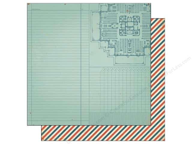 Crate Paper 12 x 12 in. Paper Story Teller Document (25 pieces)