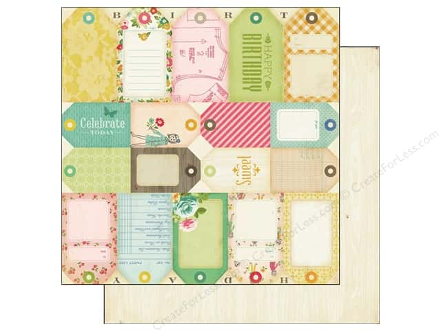 Crate Paper 12 x 12 in. Paper Pretty Party Tag Cuts (25 pieces)