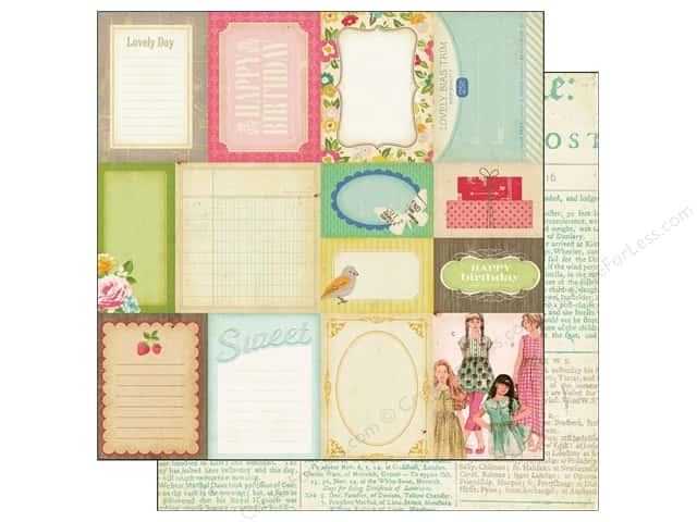 Crate Paper 12 x 12 in. Paper Pretty Party Accent Cuts (25 pieces)